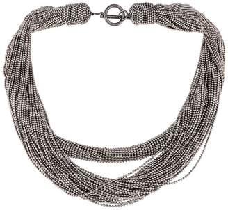 Brunello Cucinelli layered rope necklace