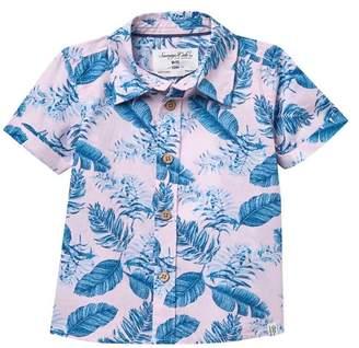 Sovereign Code Darius Short Sleeve Button Up Shirt (Baby Boys)