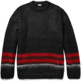 Loewe Striped Mohair-Blend Sweater