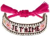 Shourouk Je T'aime bracelet