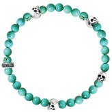 King Baby Studio Men's Turquoise Bead Bracelet