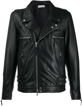 John Elliott Leather Biker Jacket