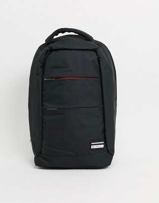 Ben Sherman backpack in black and red