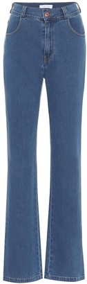 See by Chloe High-rise flared jeans