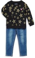 True Religion Baby's Star Printed Cotton Sweater and Jean Set