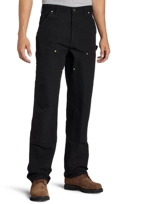 Carhartt Workwear Carhartt .B01.BLK.S411 Firm Duck Double-Front Work Dungaree W34/L30