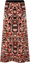 Temperley London Fire Knit Skirt
