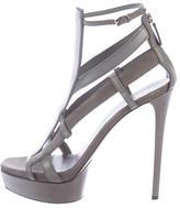 Gucci Cage Platform Sandals