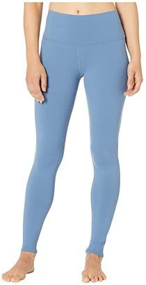 Alo High Waist Airbrushed Leggings (Black) Women's Casual Pants