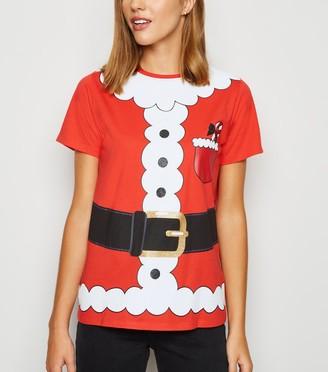 New Look Christmas Santa Dress Up T-Shirt