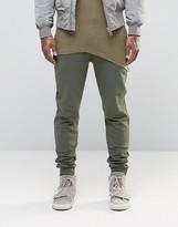 Asos Skinny Joggers In Khaki