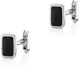 Monica Vinader Rectangle Onyx Cufflinks