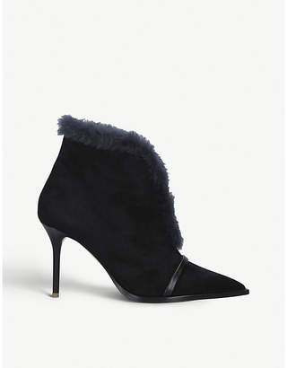 Malone Souliers Cooper suede and shearling boots