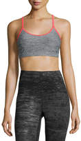 The North Face Motivation Strappy Sports Bra, Gray/Red