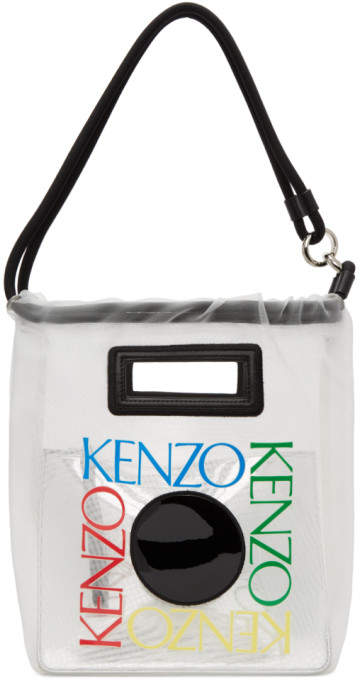5b2a2433be White Square Logo Tote