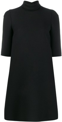 Dolce & Gabbana roll-neck shift dress