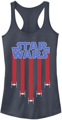 Star Wars Juniors' Tie-Fighter Banner Tank Top