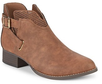 Vince Camuto Girl's Calliope Buckled Booties