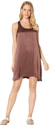 Hard Tail A-Line Tank Dress (Linen) Women's Dress