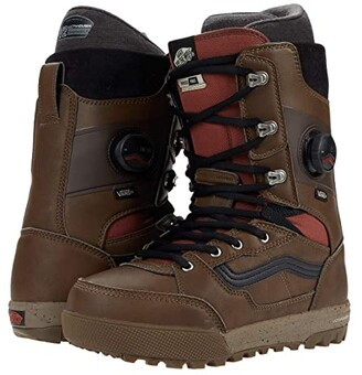 Vans Invado Pro (Brown/Red) Men's Boots