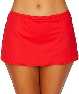 Sunsets Scarlet Kokomo Skirted Bikini Bottom