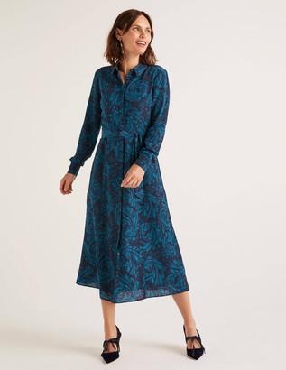 Boden Jemima Silk Shirt Dress