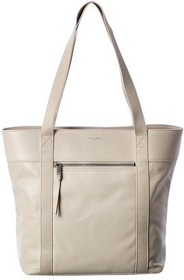 Saint Laurent Daily Cabas Leather Tote