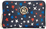 Tommy Hilfiger Th Serif Signature Zip-Around Wallet