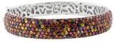 Effy Jewelry Effy 925 Splash Multi Sapphire Bangle, 13.06 TCW
