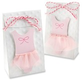 Kate Aspen Tutu Cute Favor Bag - pink/White (Set of 24)
