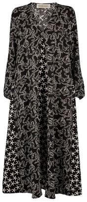 Stine Goya Leila Printed Midi Dress