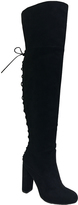 Bamboo Black Living Over-The-Knee Boot