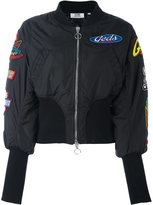 Gcds patched bomber jacket
