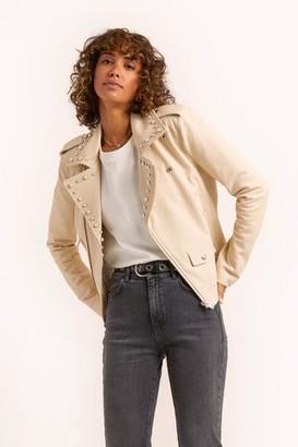 Rebecca Minkoff Pearl Andrea Moto Jacket