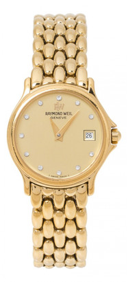 Raymond Weil Gold Gold plated Watches