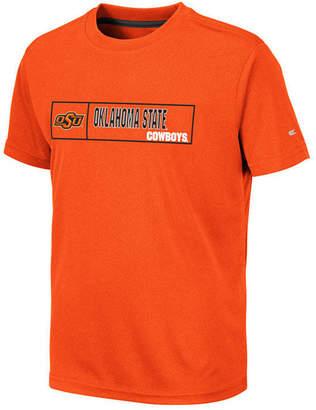 Colosseum Big Boys Oklahoma State Cowboys Boxed Logo Polyester T-Shirt