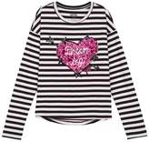 Juicy Couture Striped Dream Big Graphic Tee for Girls