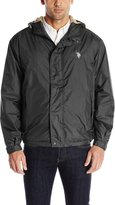 U.S. Polo Assn. Men's Hooded Windbreaker