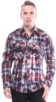 Affliction Back To Life Button Down Shirt Shirts M Men