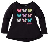 Gerber Graduates® Toddler Girls' Butterflies Top - Black
