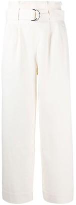 Ganni High Waisted Paper Bag Pants