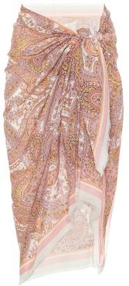 Zimmermann Exclusive to Mytheresa a Paisley cotton sarong