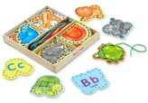 Melissa & Doug Kids' Alphabet Lacing Cards