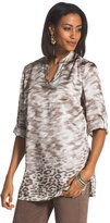 Chico's Animal Border Print Top