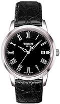 Tissot Men's T033.410.16.053.01 Alligator Leather Swiss Quartz Watch
