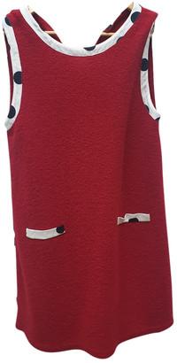 Moschino Red Wool Dresses