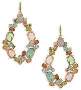 Carolee Cosmo Goldtone Gypsy Hoop Pierced Earrings