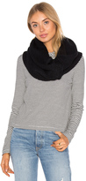 Plush Fleece Lined Chunky Knit Scarf