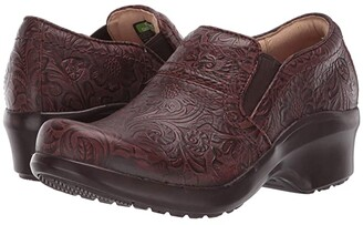 Ariat Expert Clog SD (Tooled Brown) Women's Clog Shoes