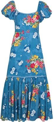 LoveShackFancy Salma floral-print midi dress